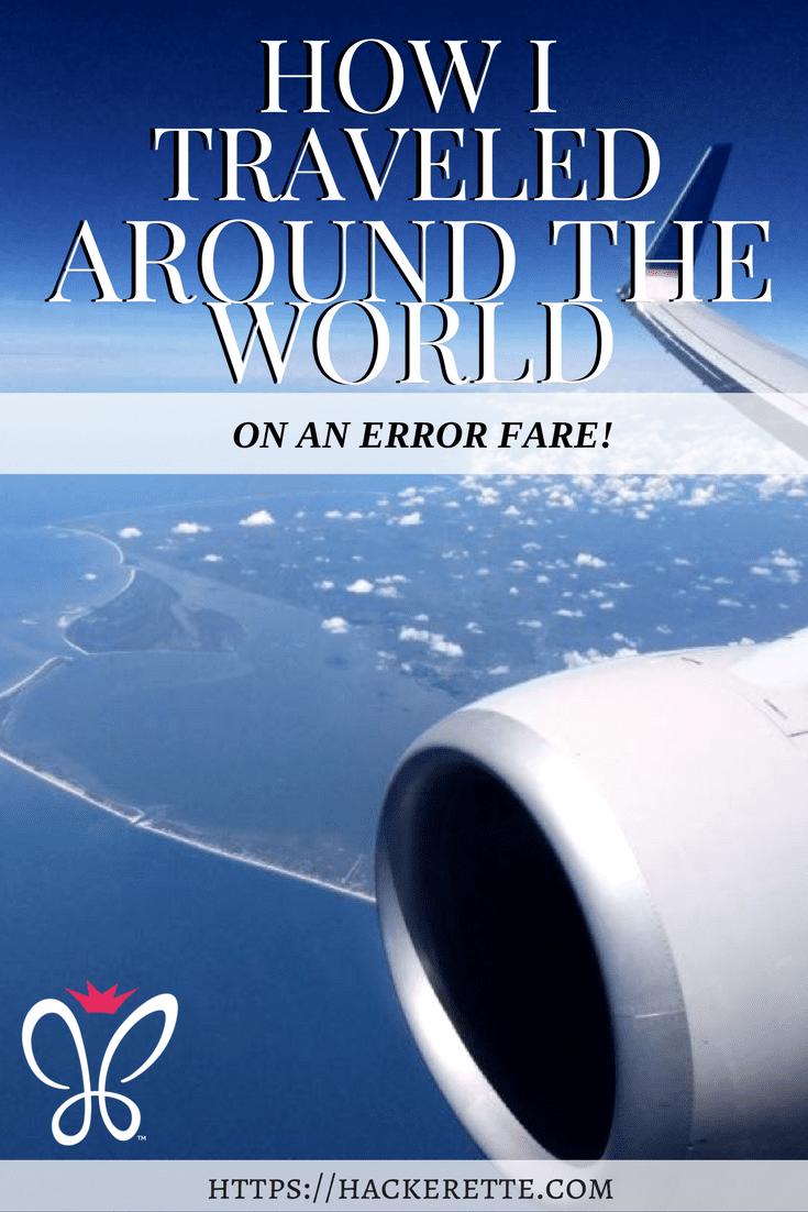 How to find error fare flights