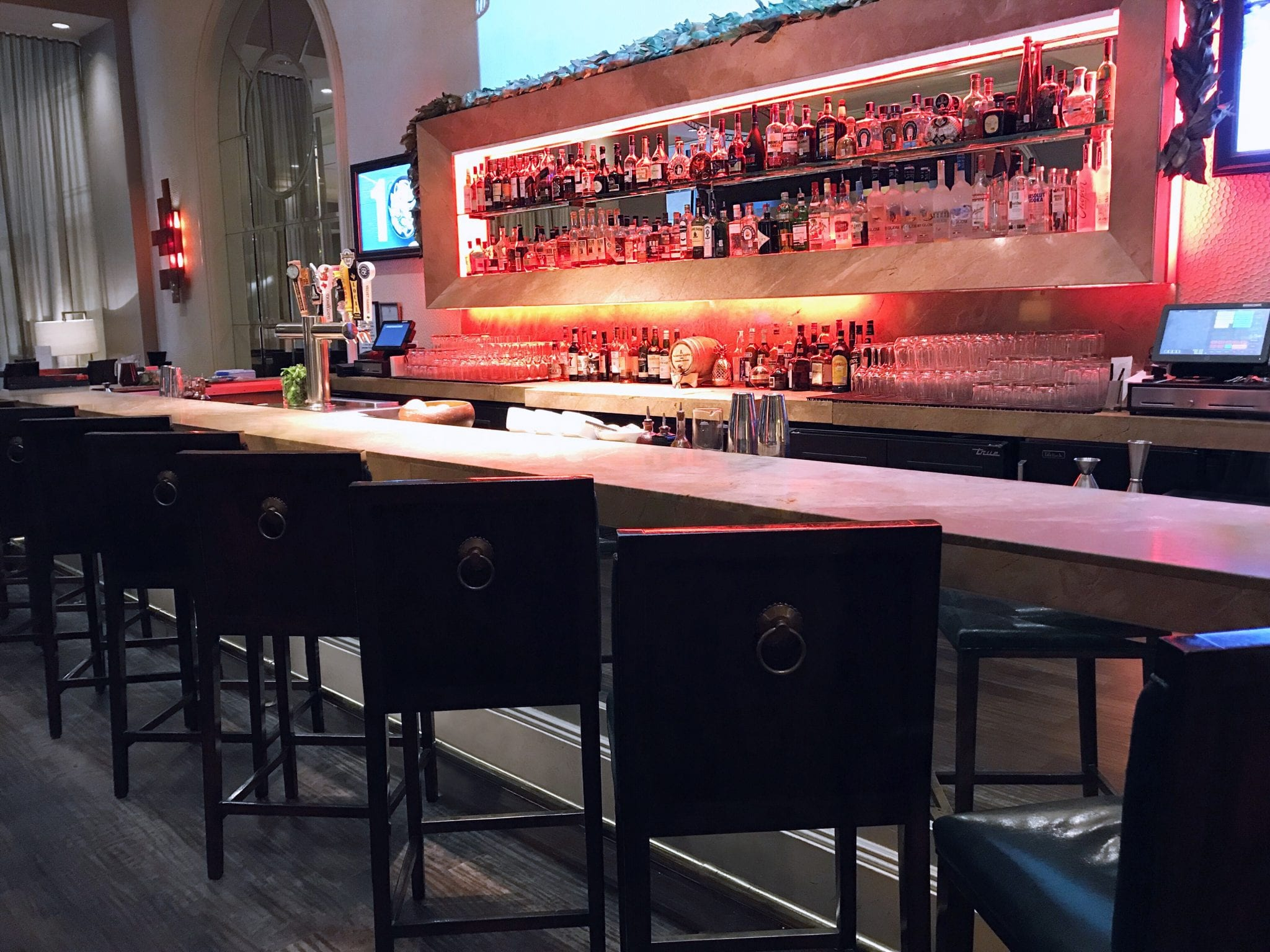 Pyramid Bar - Fairmont Dallas