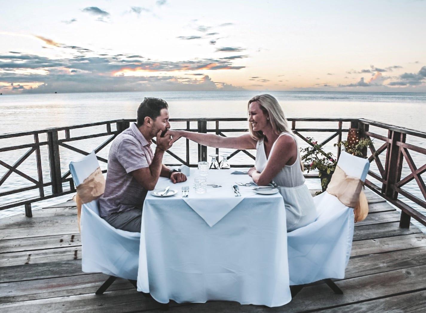 Private Dinner at Calabash Cove Resort