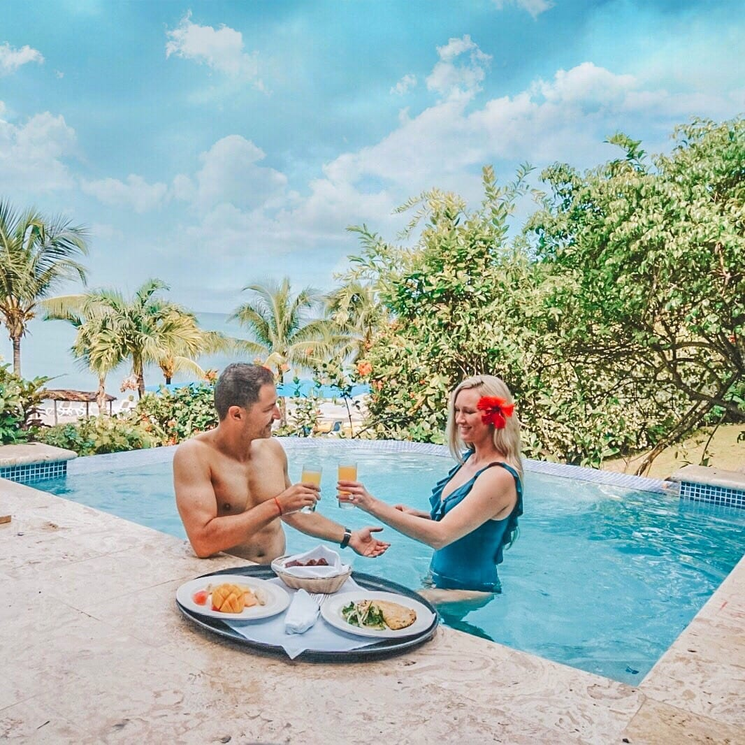 Room Service is included at Calabash Cove All-Inclusive Resort