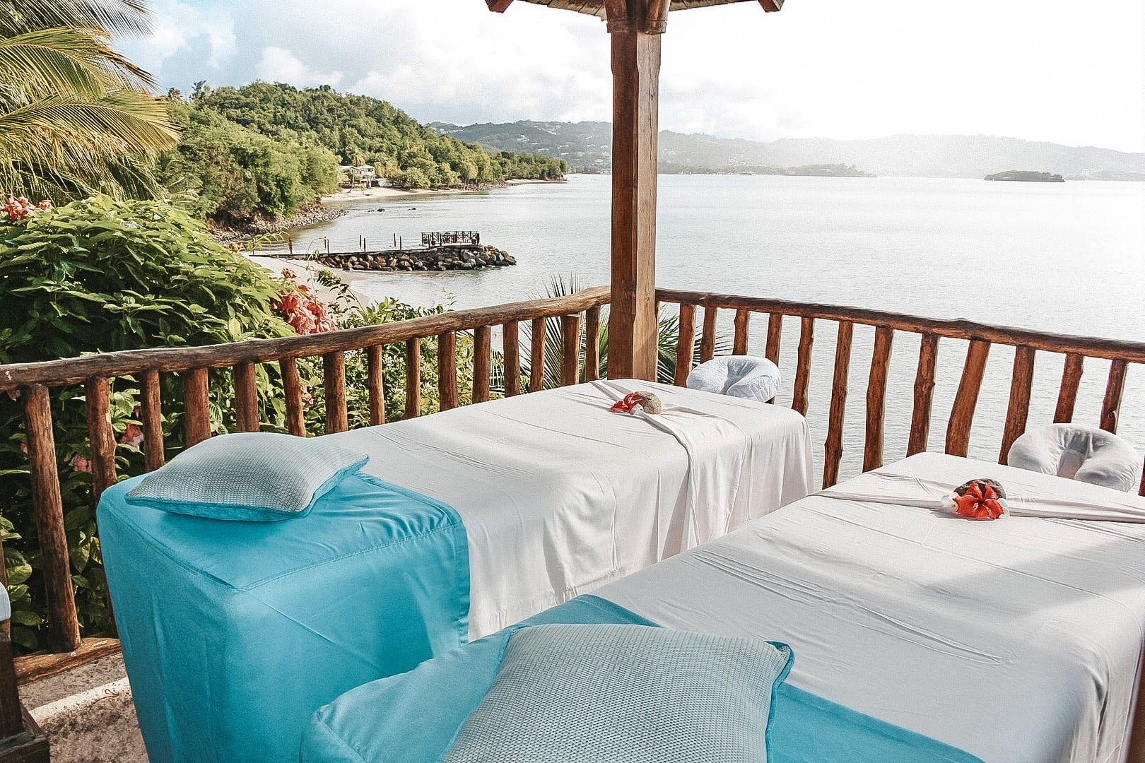 Ocean Front Massage at Calabash Cove Resort