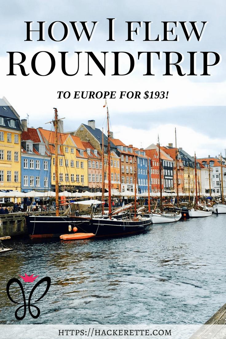Travel hacking europe