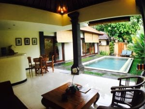 My first airbnb experience in Bali