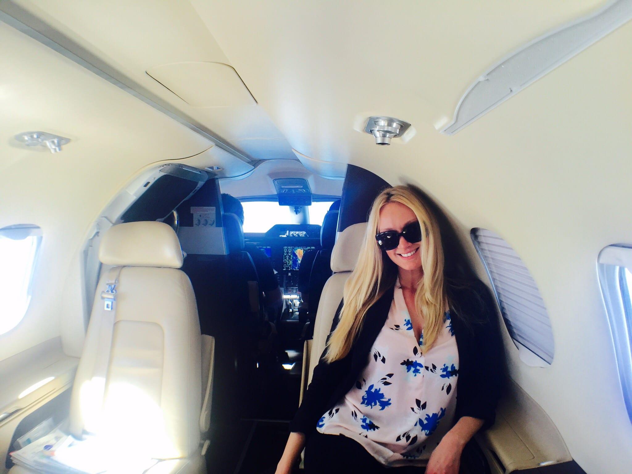 Kamelia on a Jet