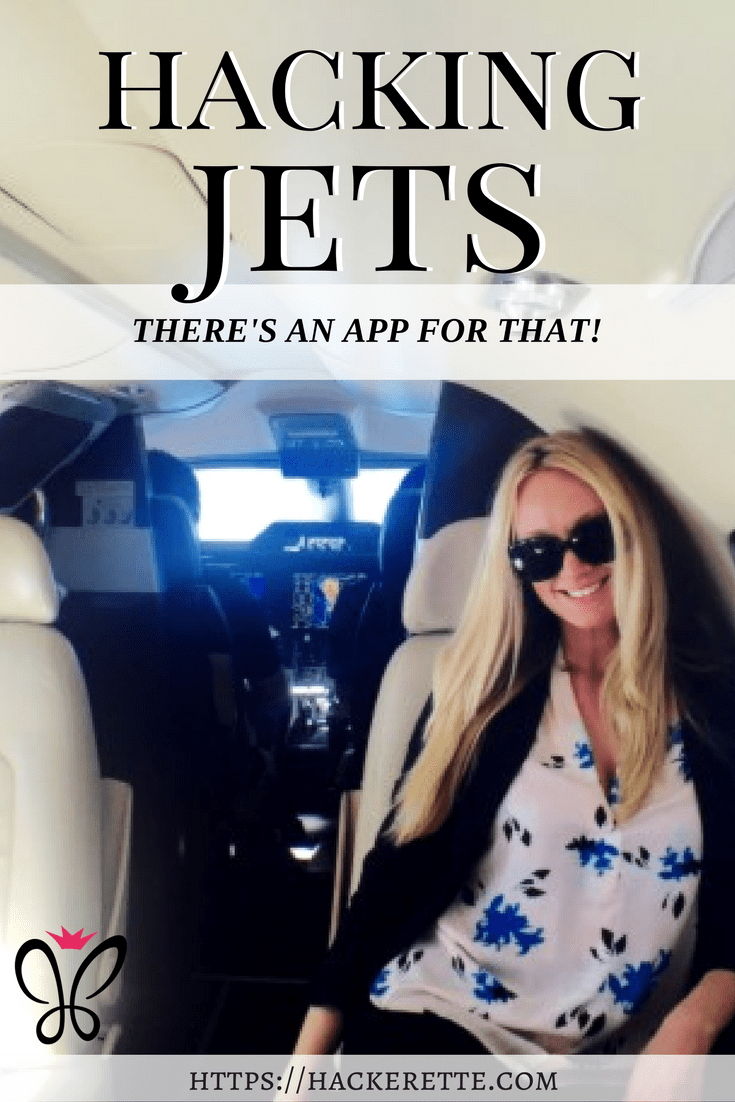 Hacking Jets - There's an app for that!