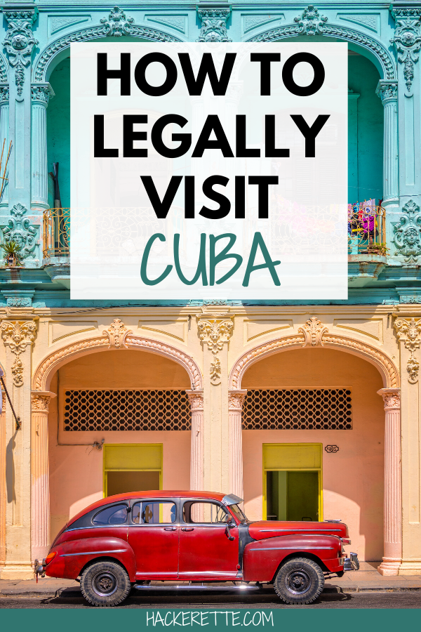Get tips for how to legally visit Cuba as a US citizen. If you want to travel to Cuba from the US, here is what you need to know to plan your trip to Cuba.