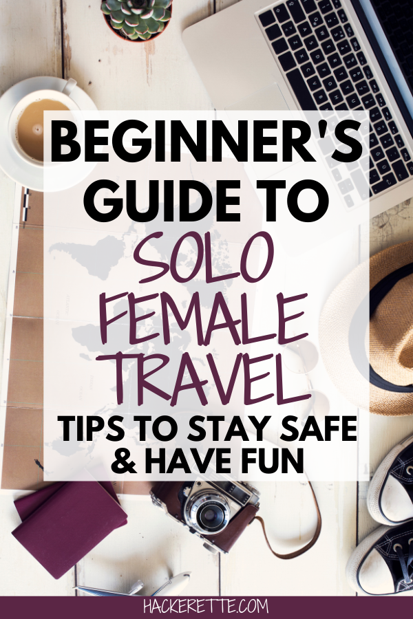 Click here for a beginnger's guide to solo female travel plus solo female travel tips to stay safe when traveling alone. #solofemaletravel #travelsafety #travelanthropy #mytravelanthropy   solo female travel tips   solo female travel first time tips   solo travel tips woman   solo female travel safety tips   travel safety tips for women   first time solo female travel   traveling solo woman first time   travel solo woman first time