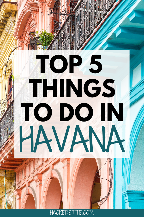 Click here for the top things to do in Cuba and other Cuba travel tips. Make sure you don't miss out on these options that are the best things to do in Havana, Cuba. #havana #cuba #cubatravel | things to do in Havana Cuba | Havana Cuba things to do in | Havana Cuba travel | Havana Cuba travel bucket lists | Havana Cuba travel vacations | Havana Cuba travel guide