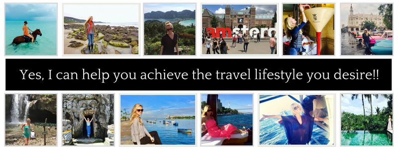 Yes I can help you achieve the travel lifestyle you desire (3)