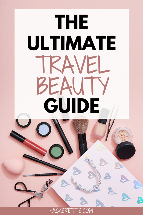 Struggling to find the best travel beauty products? Here are the best travel beauty products to keep your skin healthy while traveling! #beauty #makeup #beautyproducts | best makeup products | travel makeup essentials | travel makeup bag essentials | travel makeup kit | travel makeup best | travel makeup products | travel makeup list | travel makeup essential beauty products | whats in my travel makeup bag | must have makeup products