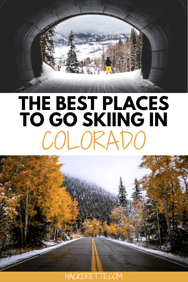 Click here to find the best places to go skiing in Colorado for your next ski trip! #colorado #winter #skitrip #snowskiing #snowboarding | places to ski in Colorado | places to snowboard in Colorado | ski resorts in Colorado | Colorado ski trip | Colorado winter vacation | Colorado ski resorts | Colorado snowboarding | Colorado travel winter | Colorado ski vacation | Colorado ski slopes | snow skiing in Colorado | snow ski Colorado | Colorado snow skiing | things to do in Colorado winter