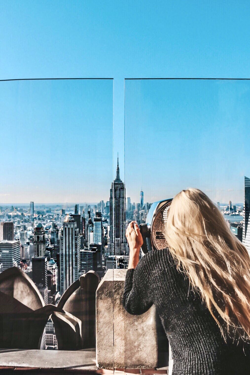 Top of the Rock - Observation deck NYC