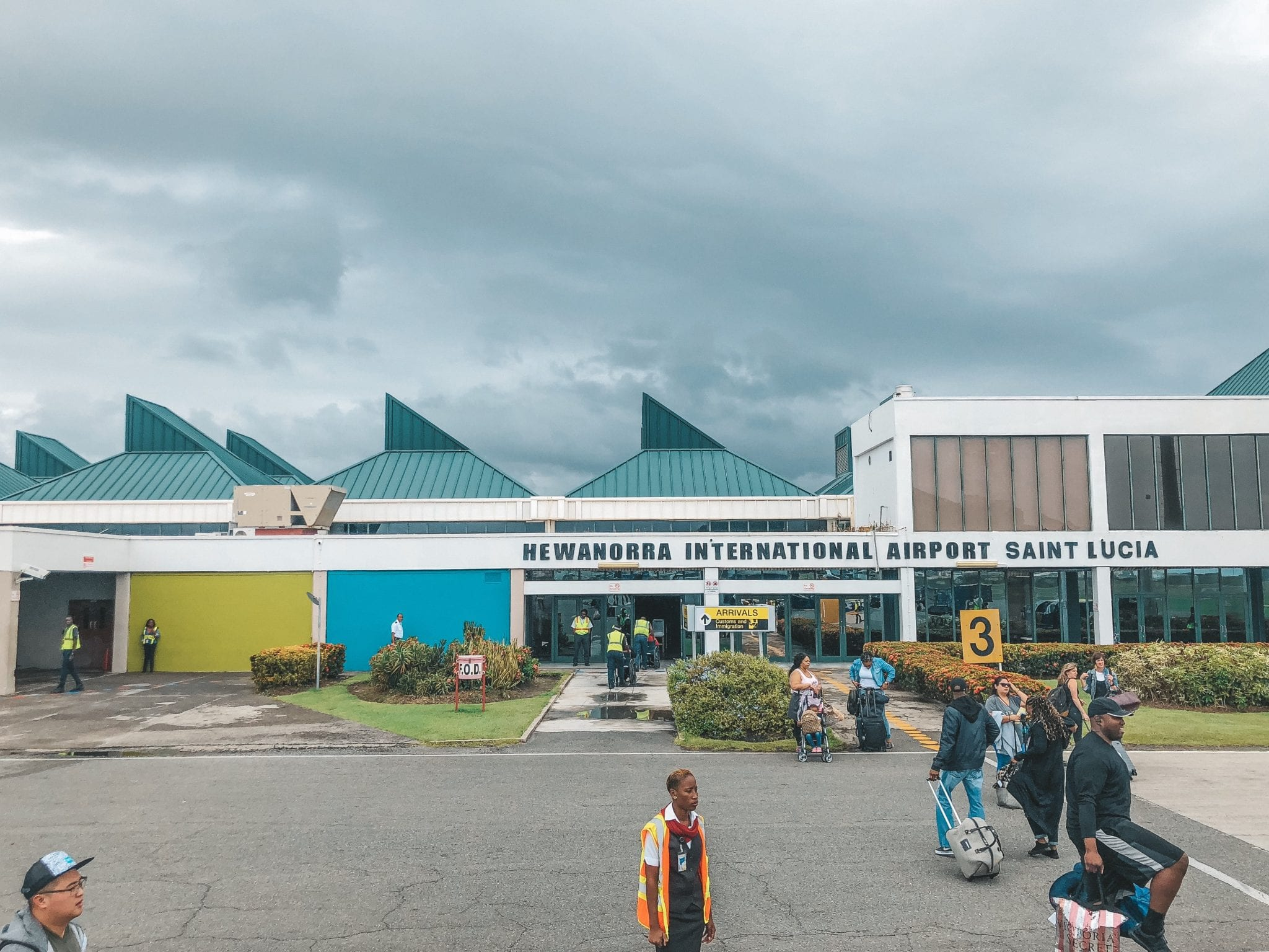 St. Lucia Airport -Hewanorra International Airport