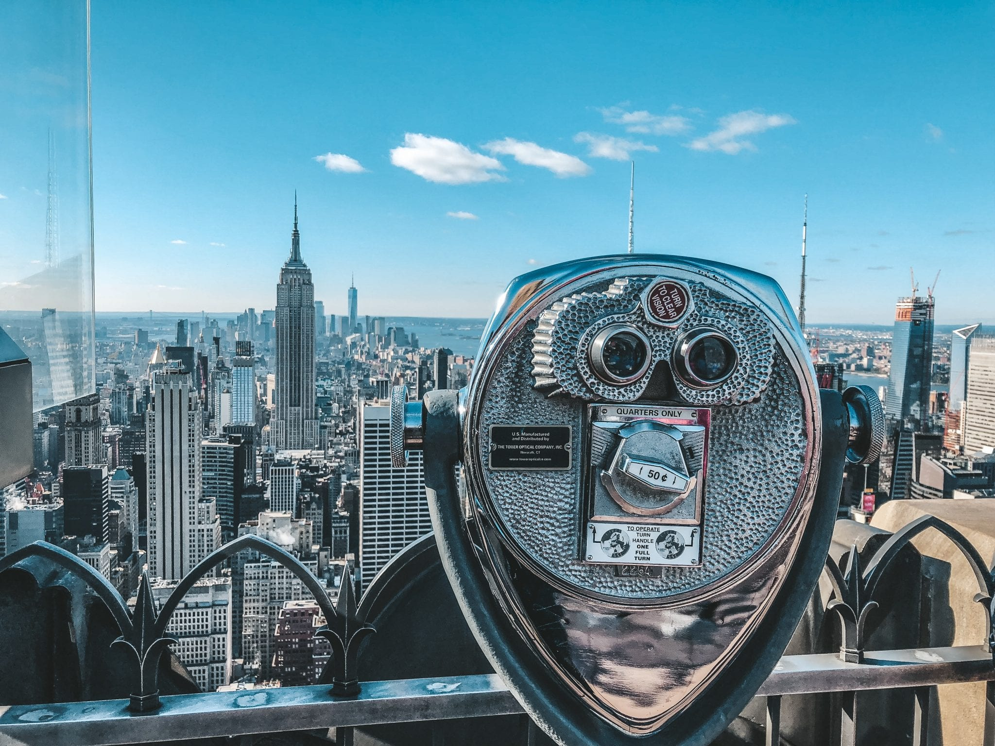 Top of the Rock Tips - Observation deck NYC