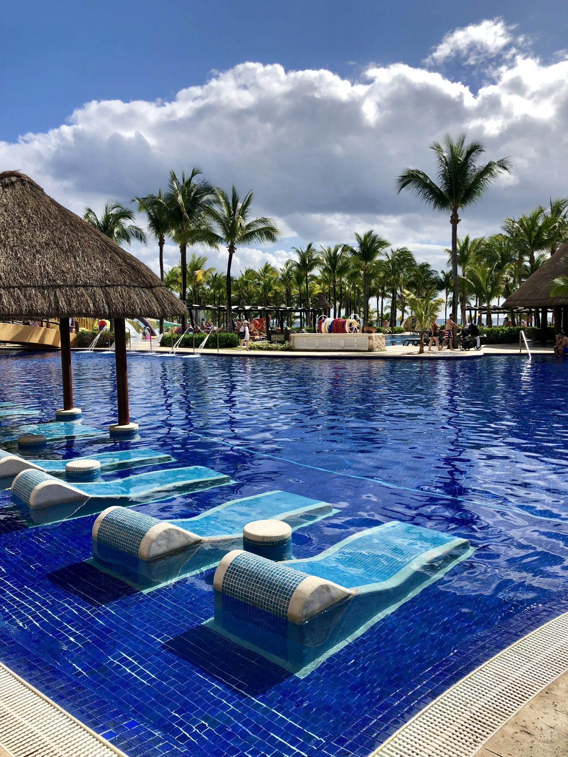 Pool at Barcelo Maya Palace