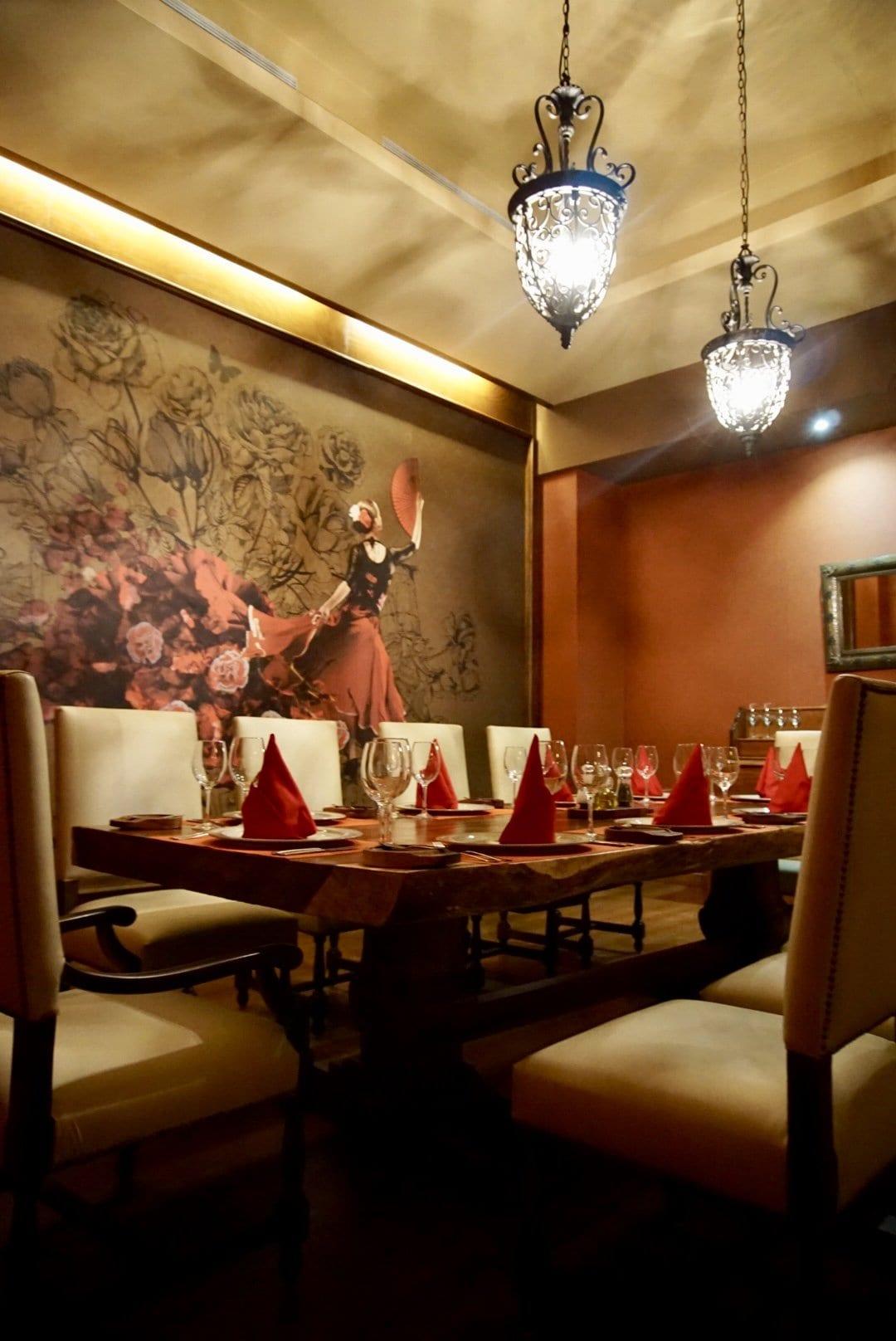 La Fuente Restaurant at Barcelo Maya Caribe