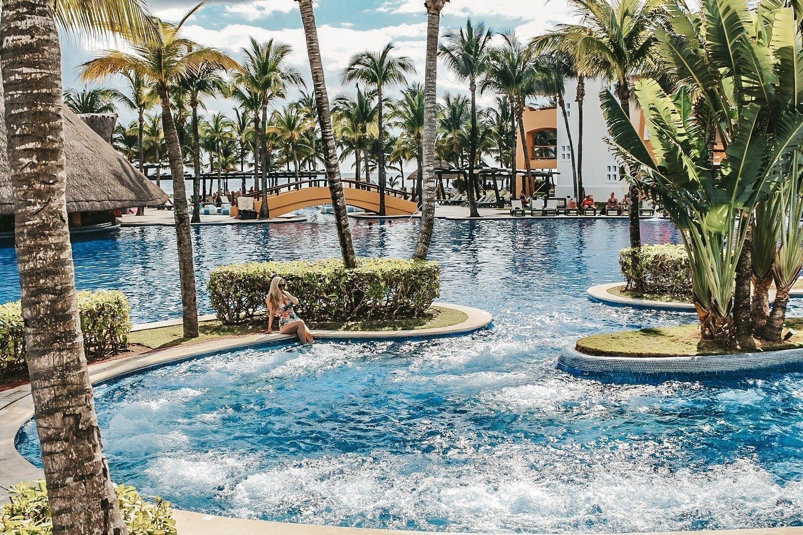 Pool at Barcelo Maya Palace