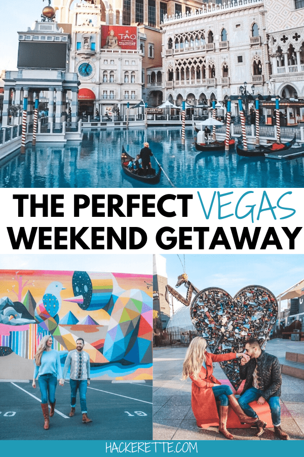 The perfect Las Vegas two day itinerary that is perfect for a weekend getaway. Find the best things to do in Vegas + the best places to eat in Vegas here. #vegas #lasvegas #travel #weekendgetaway | things to do in Las Vegas | Las Vegas vacation | Las Vegas restaurants | Las Vegas food | Las Vegas hotels | Seven Magic Mountains | Las Vegas 2 day itinerary | Las Vegas weekend itinerary | Las Vegas Instagram spots | Las Vegas couples trip | Las Vegas weekend trip Las Vegas Nevada things to do in