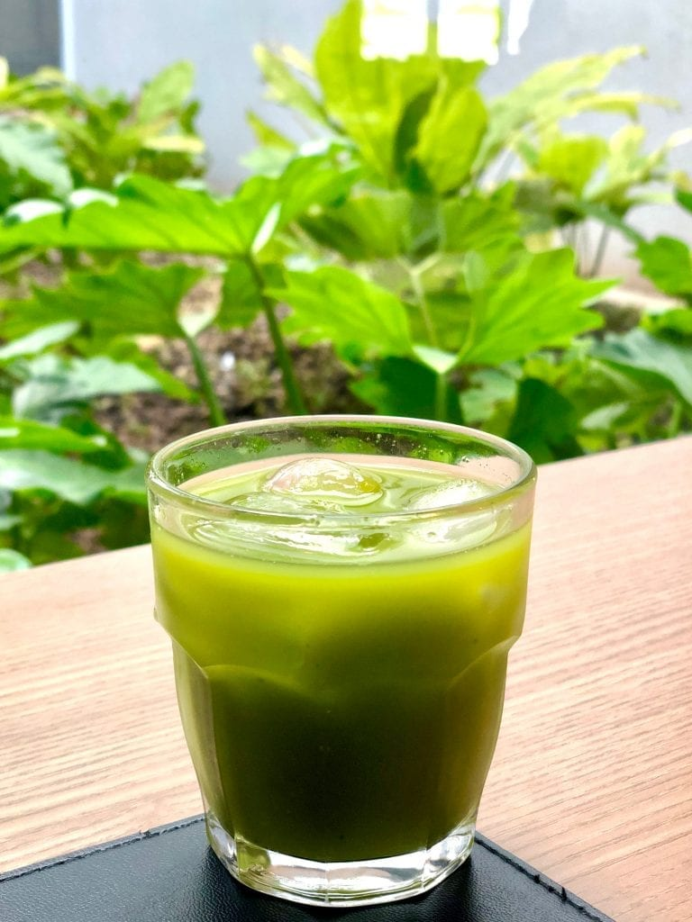 An Organic Chlorella drink