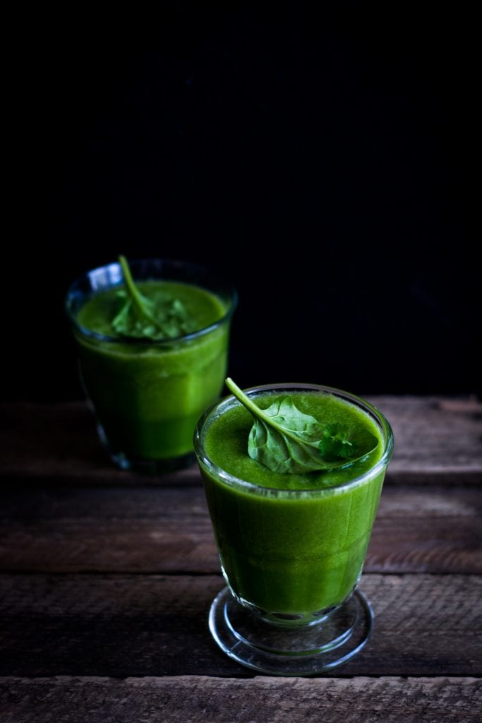 A chlorella drink to improve your health