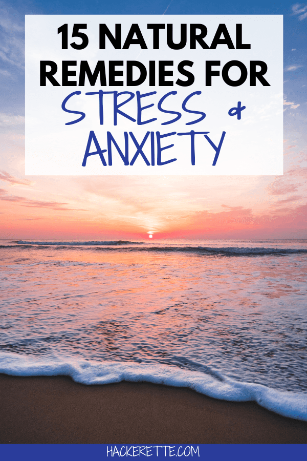 Everyone deals with stress and anxiety at some point in life. Here are 15 natural ways to help you deal with stress and anxiety. #stress #anxiety | stress relief activities | natural stress relief | stress relief activities for women | natural remedies for stress | natural remedies for anxiety | ways to lower stress | ways to lower anxiety | ways to deal with stress | ways to deal with anxiety | stress relief tips | how to decrease stress | ways to decrease stress | how to decrease stress level