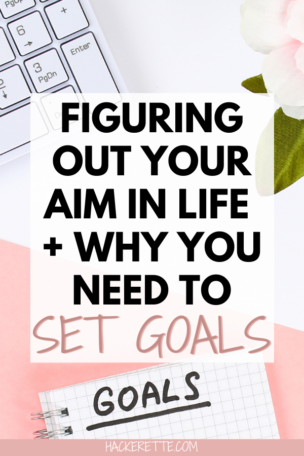 Find out why setting goals is an important part of your life and how figuring out your aim in life can be life-changing. Read about my journey to finding my aim in life after dealing with breast cancer and how now I am helping others set goals and reach them. #goals #goalsetting #instagramcoach #coaching #lifegoals