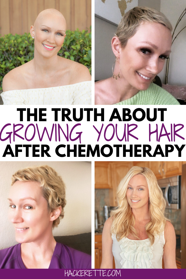 What is it really like to grow your hair after chemo? Find out here with photos and a timeline showing my hair growth journey after chemotherapy from breast cancer. #breastcancer #chemotherapy #hairgrowthtips | how to grow hair after chemo | how to grow out hair after chemo | how to grow hair after chemotherapy | how to grow hair fast after chemo | grow hair faster after chemo | how long does it take for hair to grow after chemo | how to grow your hair out after chemo | chemo hair growing out
