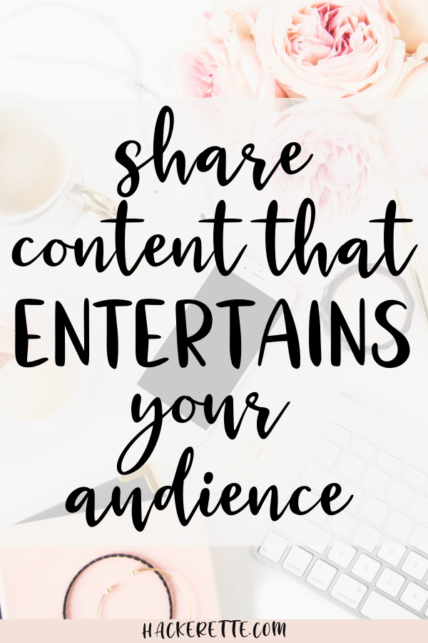 Use entertaining Instagram posts to entertain your audience