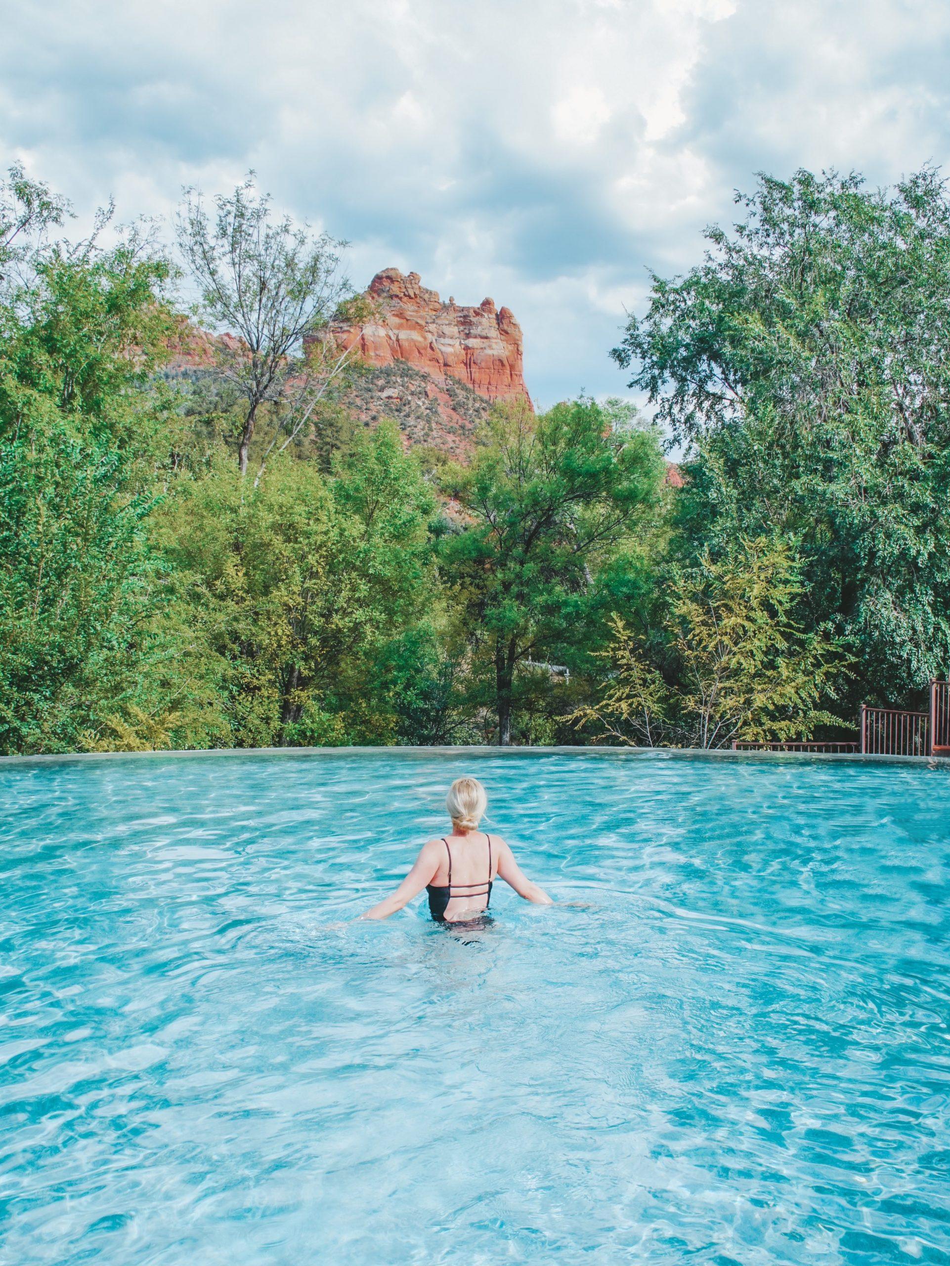 Pool at Amara Resort in Sedona