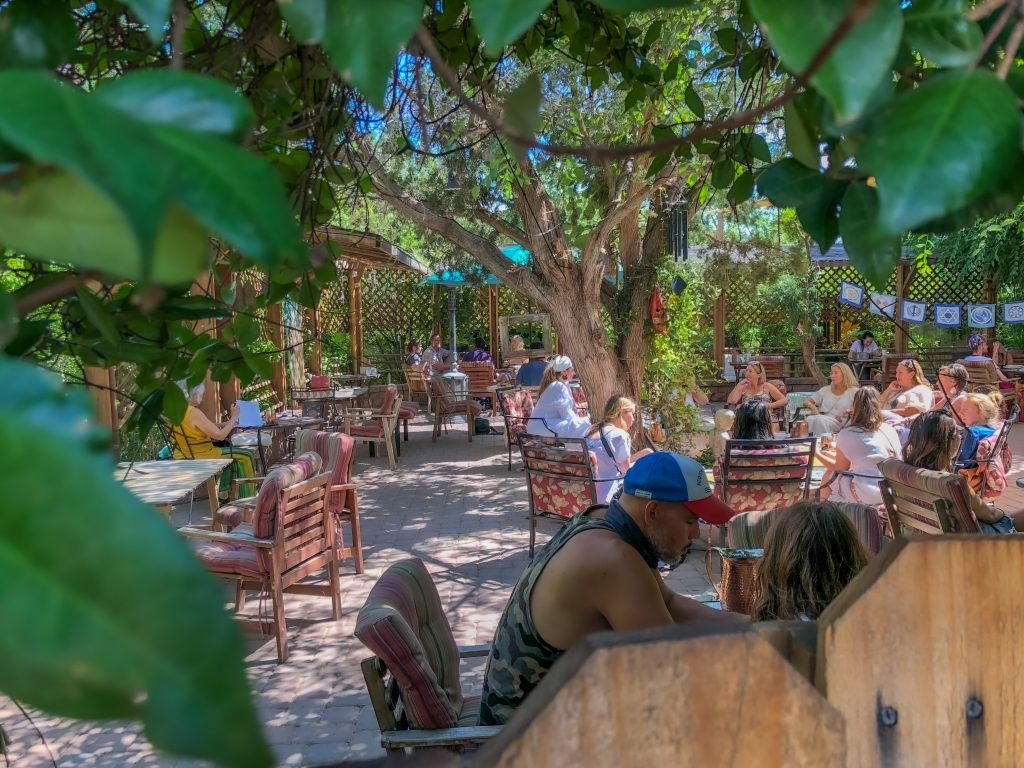 Lunch in Sedona at ChocolaTree