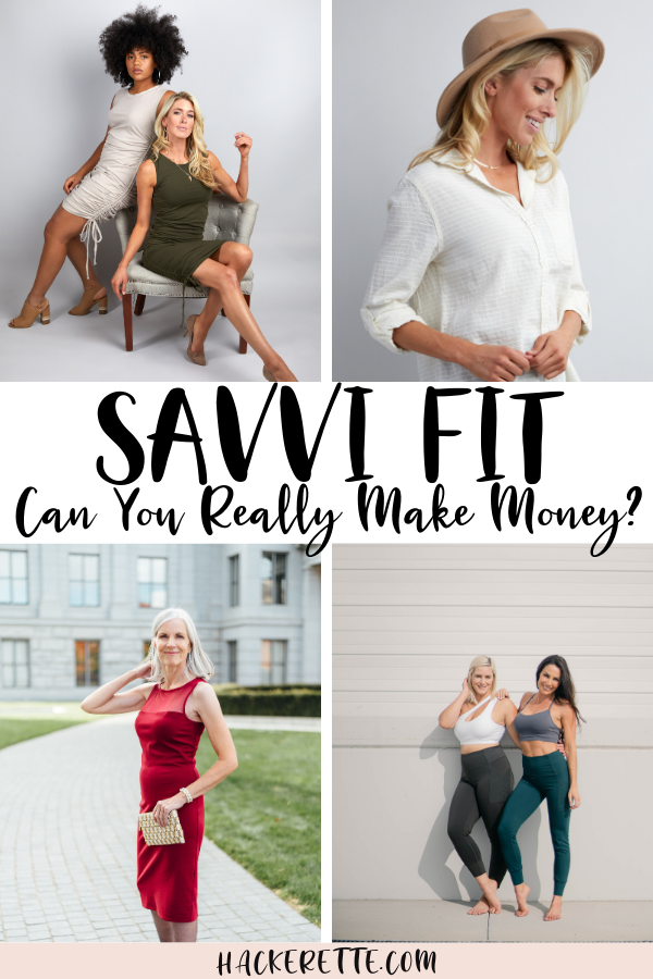 With Savvi Fit, you can earn commissions for clothing without ever having to leave home. This is a great way to make money at home and get super cute clothing too! #savvi | Savvi fashion | Savvi fit | Savvi clothing | Savvi Stylist | Savvi workout clothes | Savvi leggings | make money at home legit | work from home jobs legitimate | network marketing business | network marketing companies best | network marketing companies online business | make money from network marketing