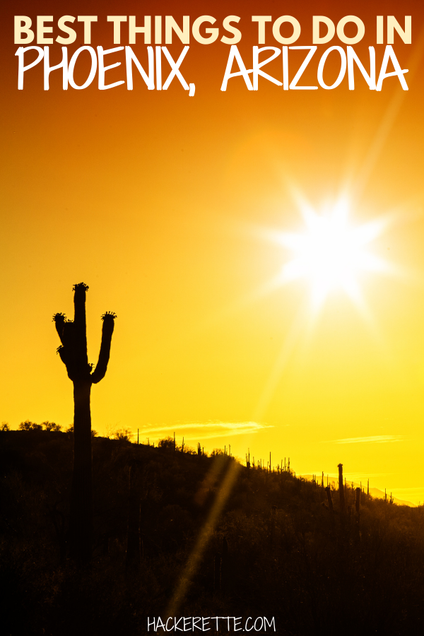 Get an idea of what to do in Phoenix Arizona with this list of best things to do in Phoenix, Arizona. #phoenixarizona | Phoenix Arizona things to do in | Phoenix Arizona what to do | what to see in Phoenix Arizona | things to see in Phoenix Arizona | what to do in Phoenix Arizona things to do