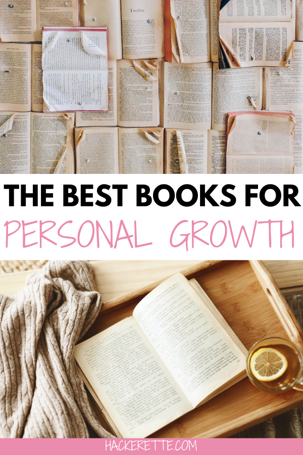 Here you'll find a list of 10 great personal growth books that will help improve your mindset this year. Add these to your list of books to read this year to help you meet your goals. #personalgrowth | best personal growth books | best books for personal growth | best books to read for personal growth | best personal growth books for women | best books for mindset
