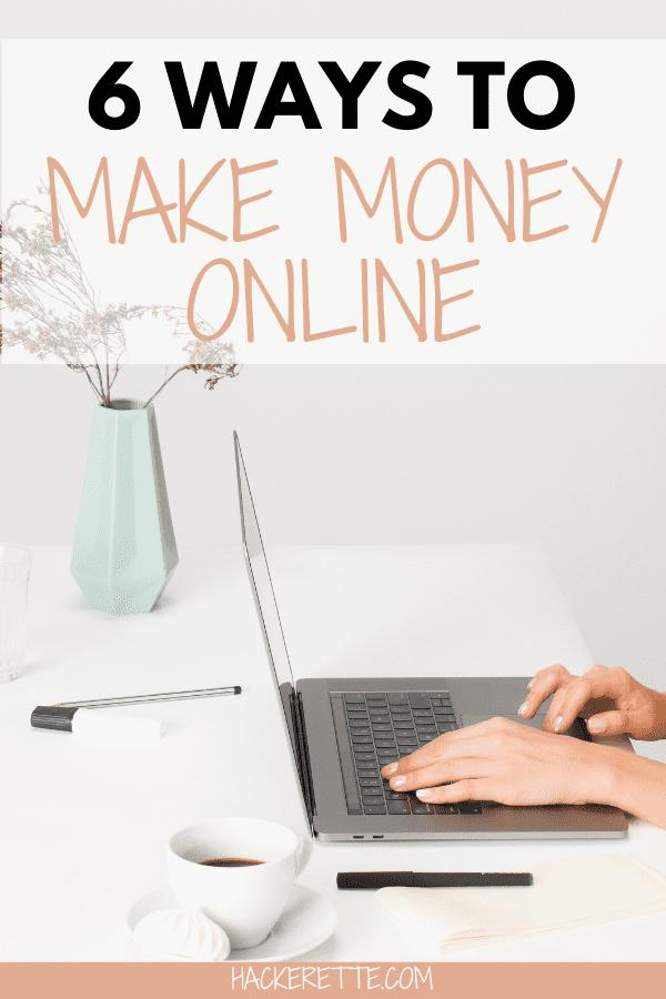 ways to make money at home online