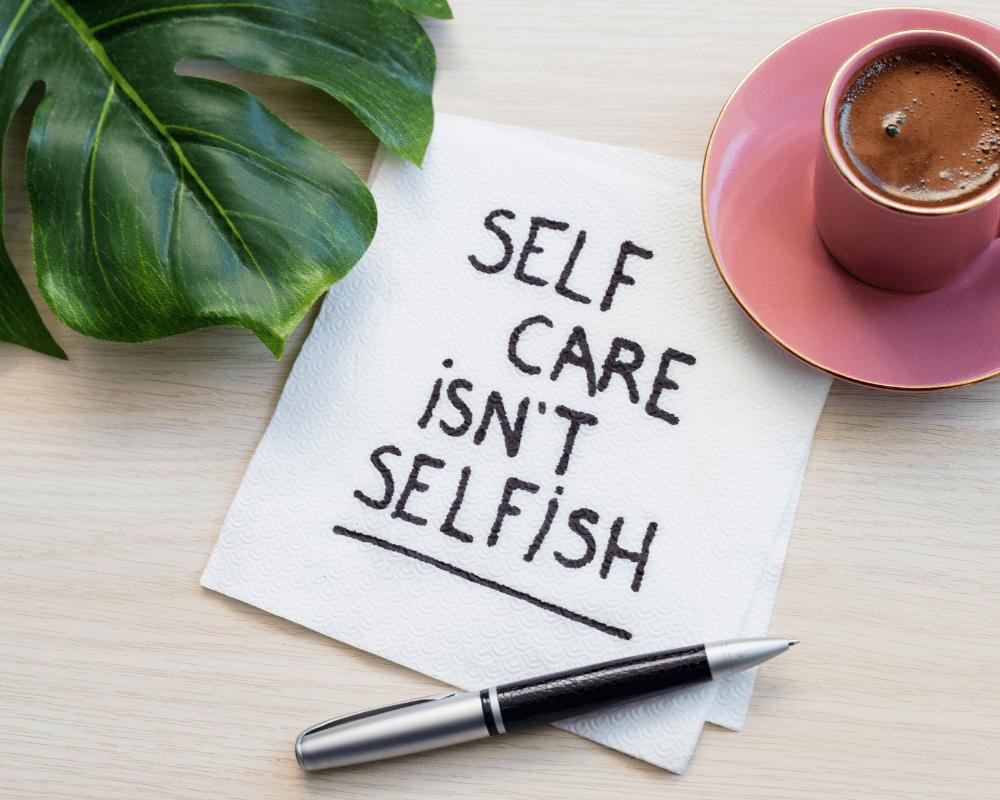 5 minute self care